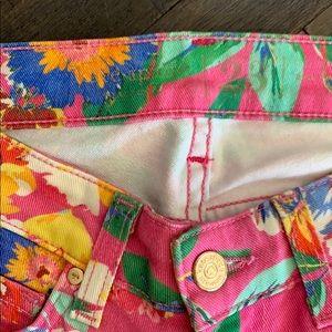 kate spade Pants & Jumpsuits - Kate Spade ♠️ Brooke Street Pink Floral Pants